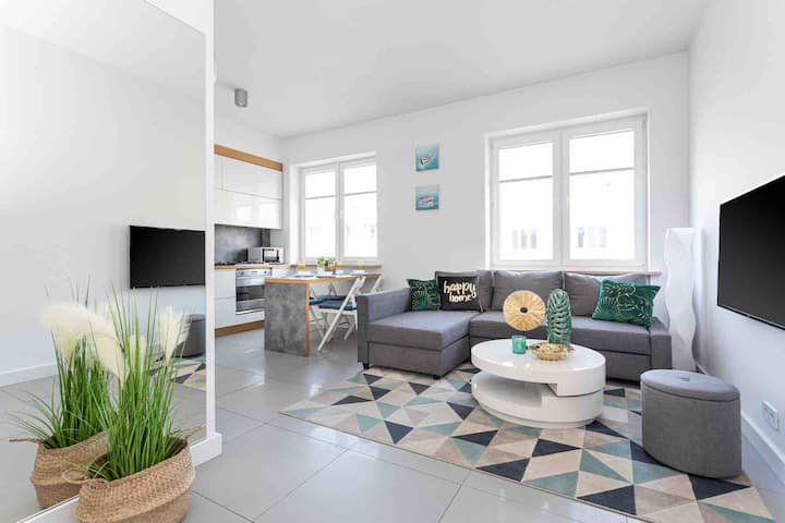 Hampton Apartments Gdynia Centrum - Malibu