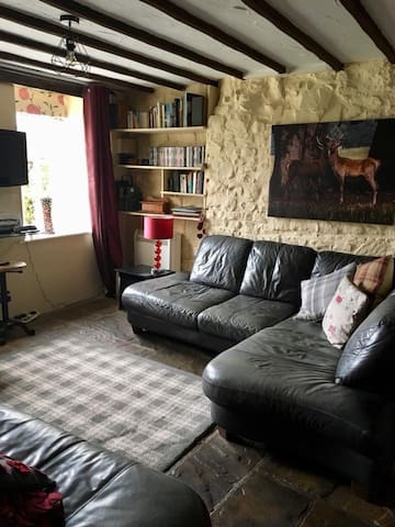Our comfy and cosy lounge