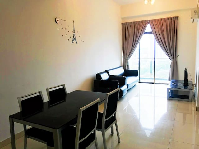 D Inspire 7pax 3Bedroom2Bathroom Wifi NusaBestari