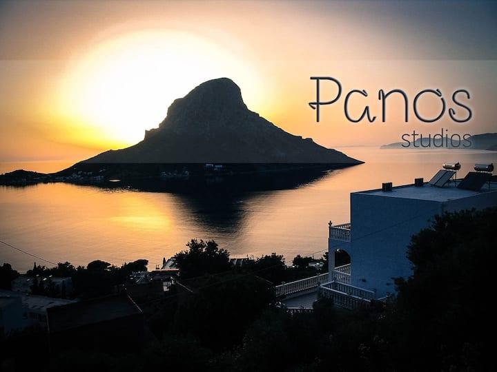 Panos studios 2 - 3 beds apartment (B)