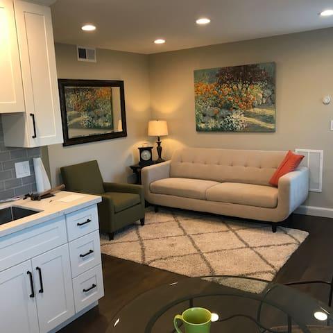 1 Bedroom Cozy Designer apartment