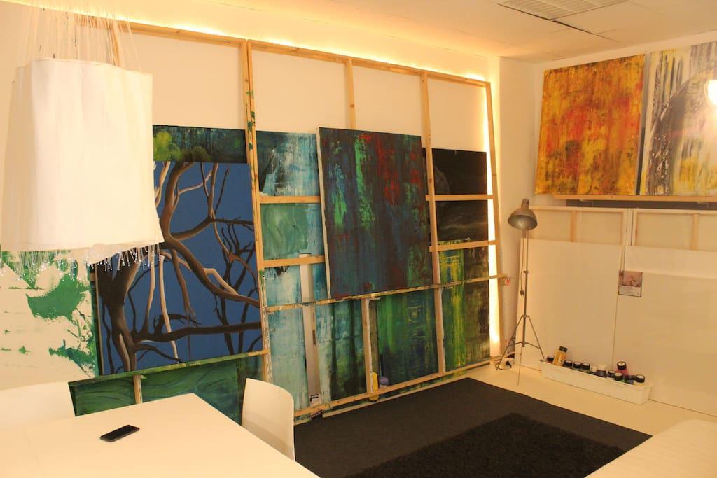 wohnen im atelier lofts zur miete in berlin berlin deutschland. Black Bedroom Furniture Sets. Home Design Ideas