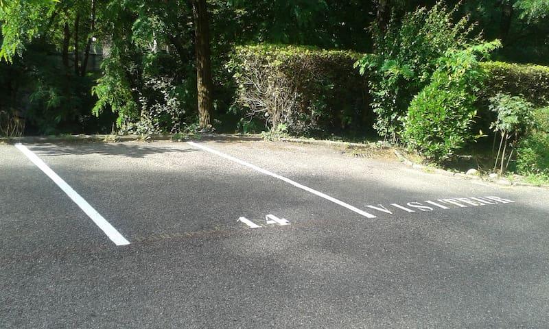 Parking privé 14