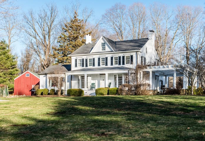 Gorgeous farmhouse in Bedford - Katonah - Huis