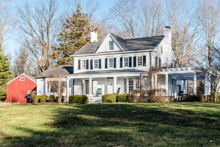 Gorgeous farmhouse in Bedford - Katonah - Dom