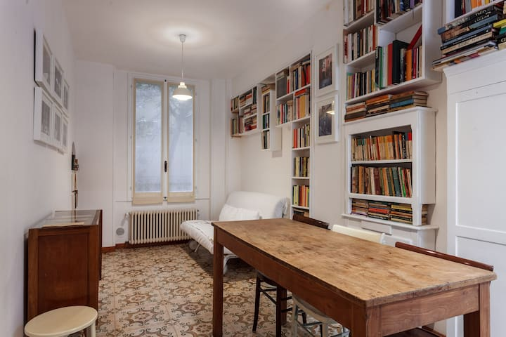 B&B in a library - Bologna - Huis