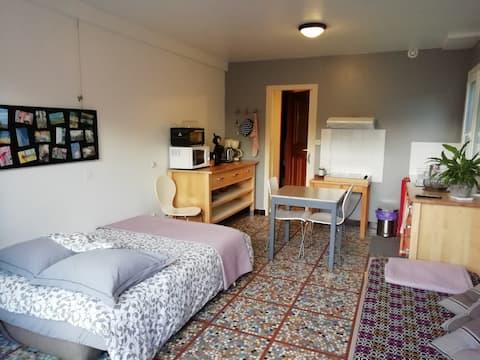 Studio annexé à une maison sur l'île d'Oléron