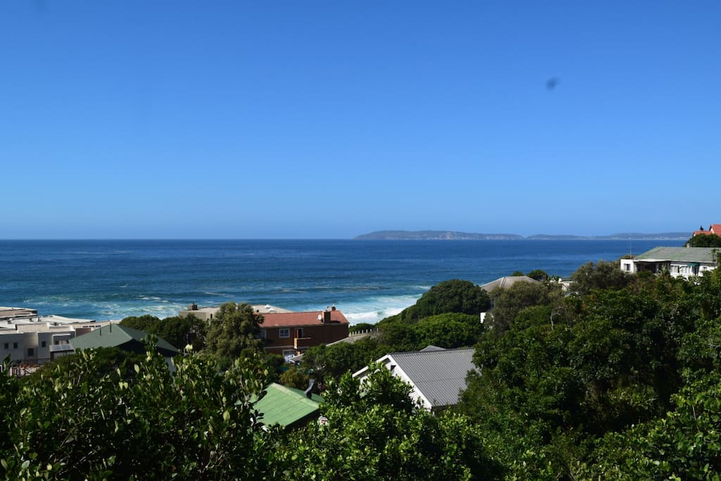 Sea view from front deck