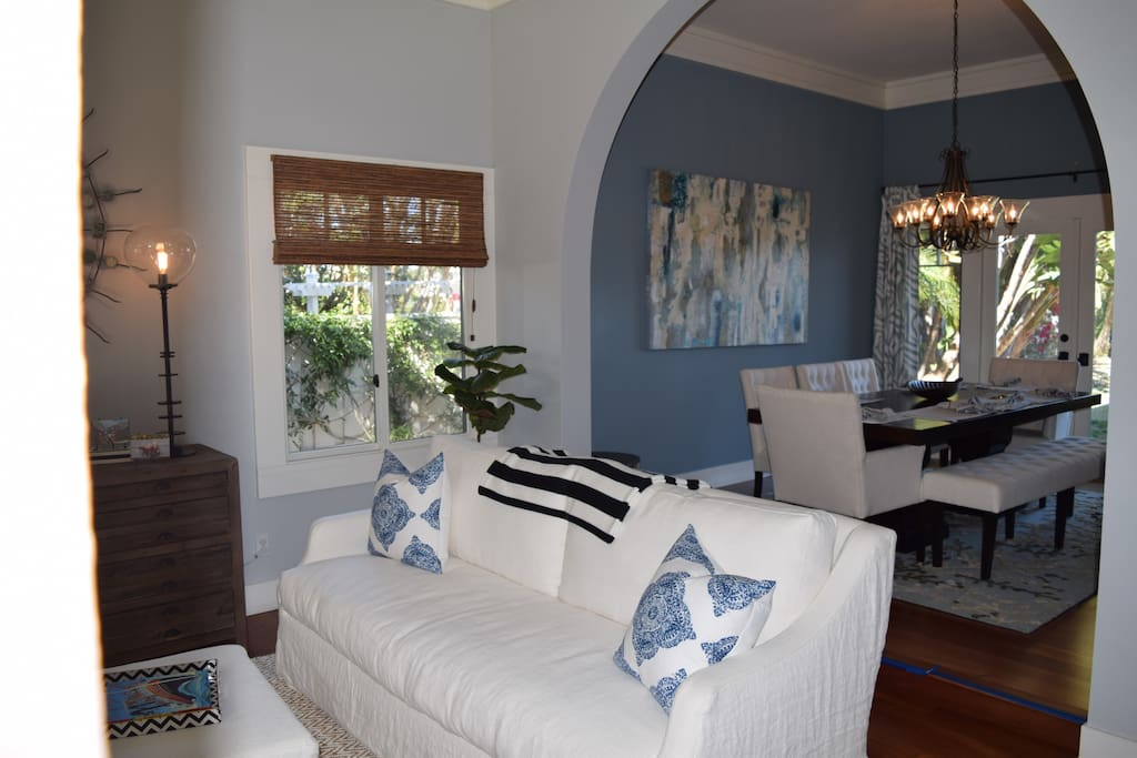 Formal living room - opens to dining room