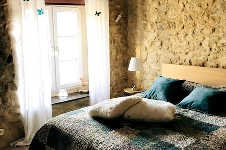 B&B in a cosy stone house near Limoux