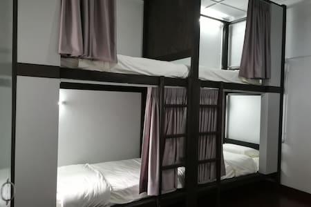 Bunk & Lodge, Mixed Dormitory Bunk Bed 1B