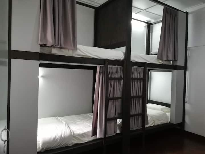 Bunk & Lodge, Mixed Dormitory Bunk Bed 1B
