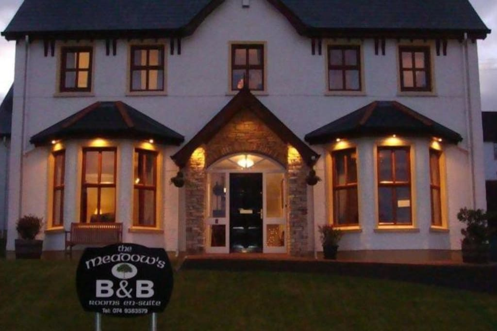 Frontal view of our B&B.
