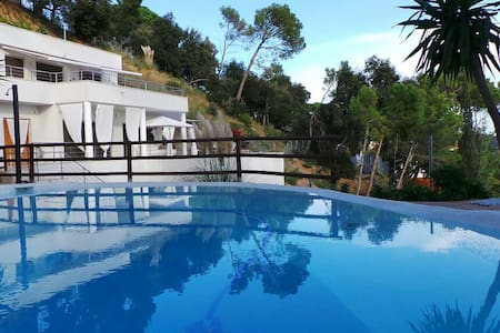 Modern Villa Mestral for 9 guests, only 6km to the beach! - Barcelona Region - 别墅
