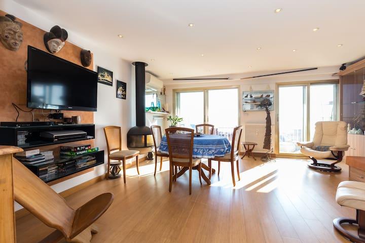 Splendid flat and 2 bedrooms 4 pers