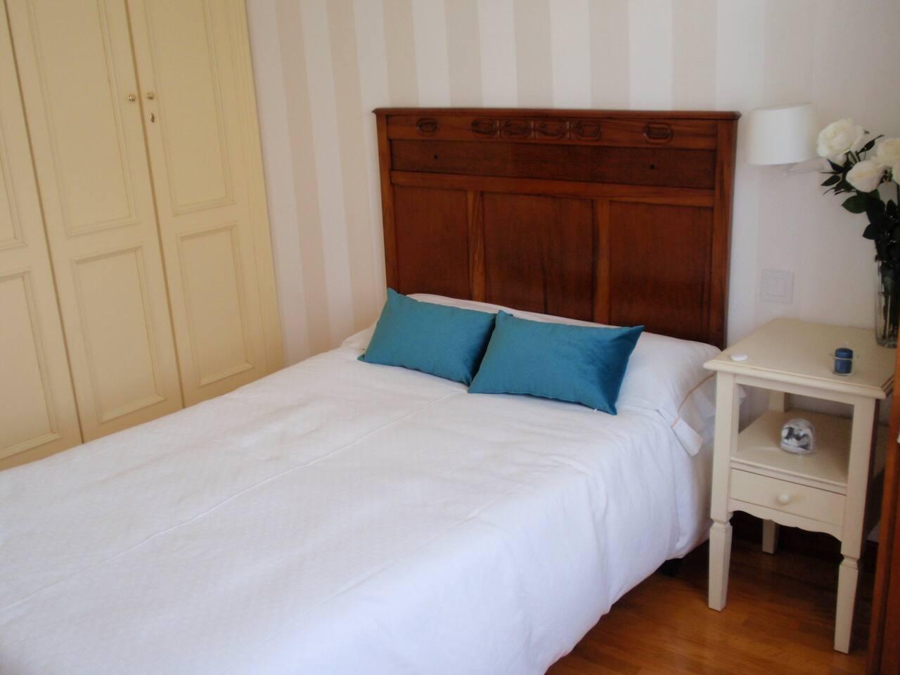 Acogedora habitación, céntrica y tranquila