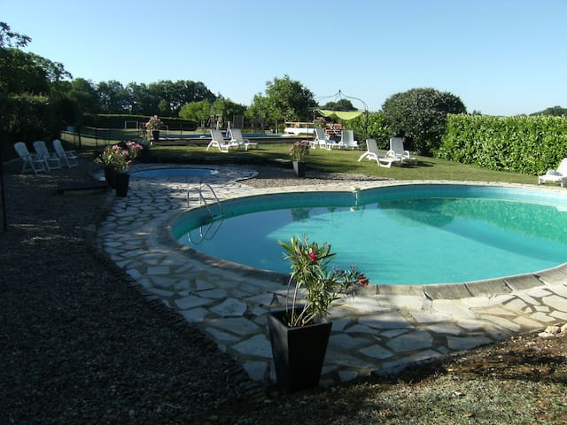 Beautiful house heated pool dordogne valley -5 max
