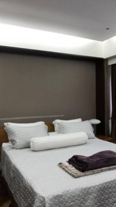 Tempat tidur yang besih dan berkualitas