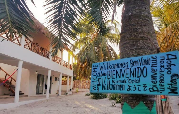 """Villa Ixchel """"Luna Mar"""" at El Cuyo Yucatán"""