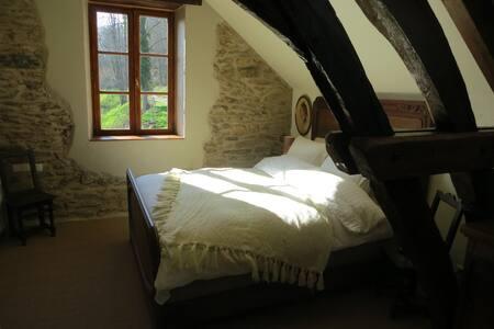 La Ressource, Moulin de la Fosse, chambre Source - Saint-Désiré - Bed & Breakfast