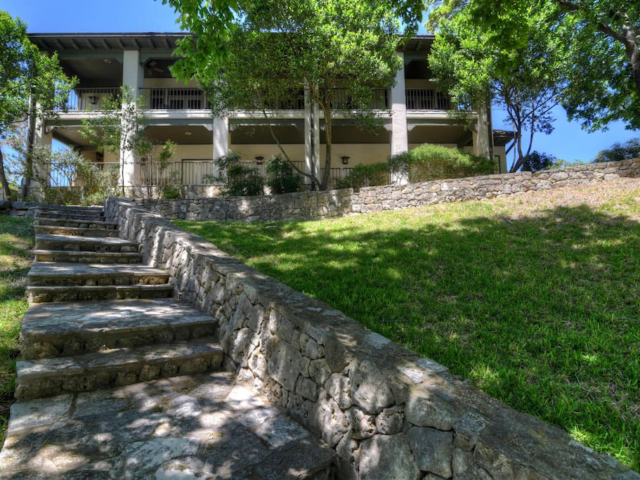 Cypress Falls Falls House