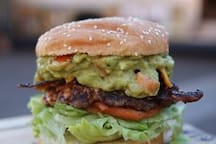 The best burgers on the island available at Seven Brothers Burgers right in the Laie Foodland Shopping Center