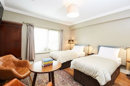 Our Superior Twin Rooms are large, bright and spacious and come in various styles, all with a private bathroom.