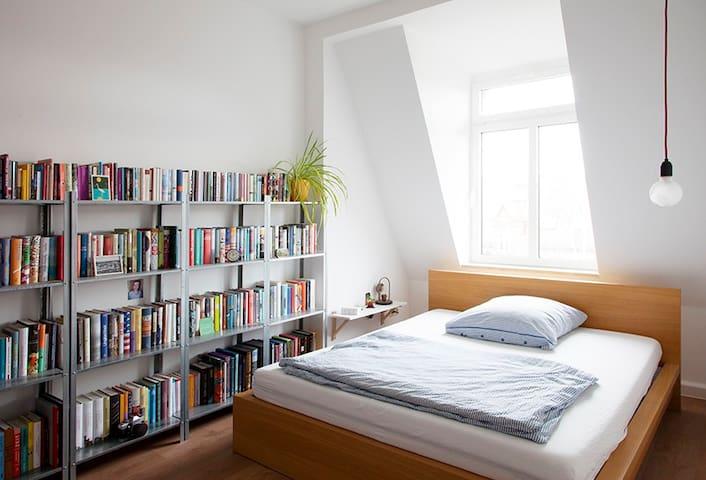 Helle 3 Raumwohnung in Leipzig, Messenähe
