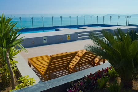 ❤️Oceanview NR/Airport★w/Rooftop Pool - San Miguel