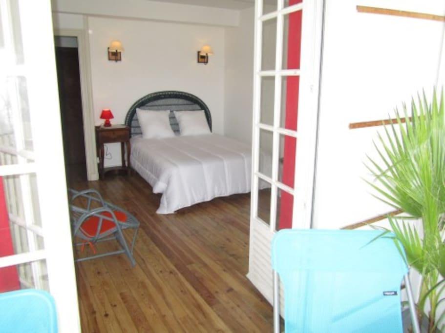 2 chambres cosy à l'étage