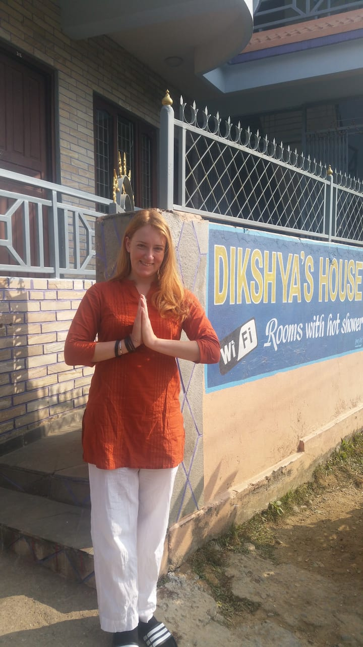 Dikshya house, double room, private bathroom, no 3