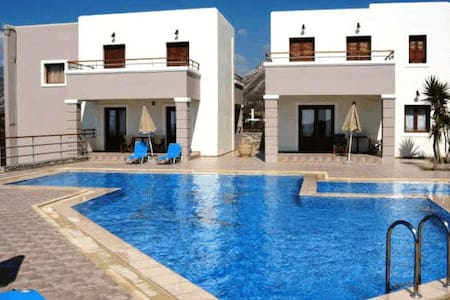 seaview villa complex in Elafonisos ideal for kids - Kissamos