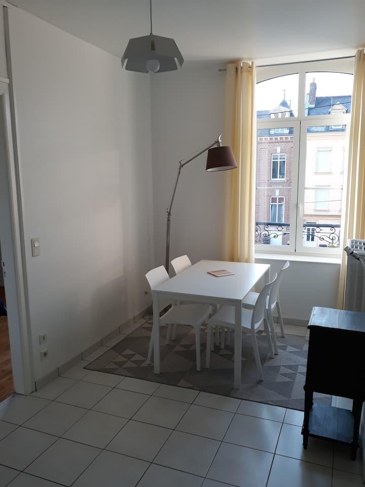 Appartement clair et spacieux