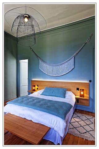 Bedroom vert d'eau