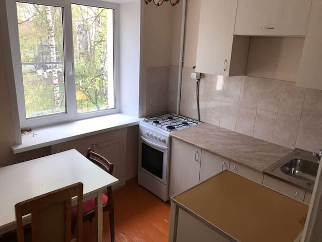Newly renovated flat in the center of Saransk