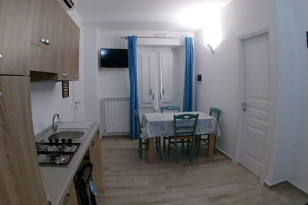 1° zona living+cucina