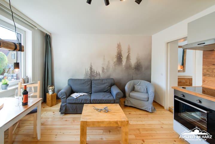 Auszeit im Harz - Haus 4 Wohnung 1