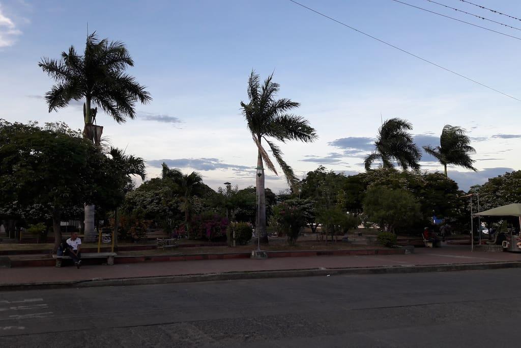 Parque de La Ermita/Vista desde la casa