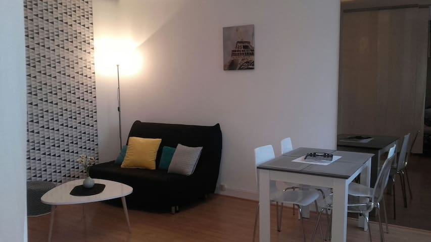 Charmant Appartement Centre Gare - Troyes - Apartamento