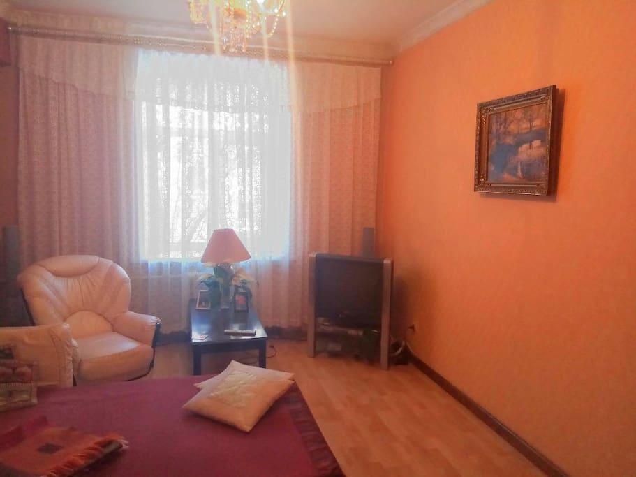 Гсотинная - спальня (Guestroom - bedroom)