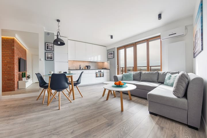 Resorts Kołobrzeg Apartament A 44 dla 4 osób