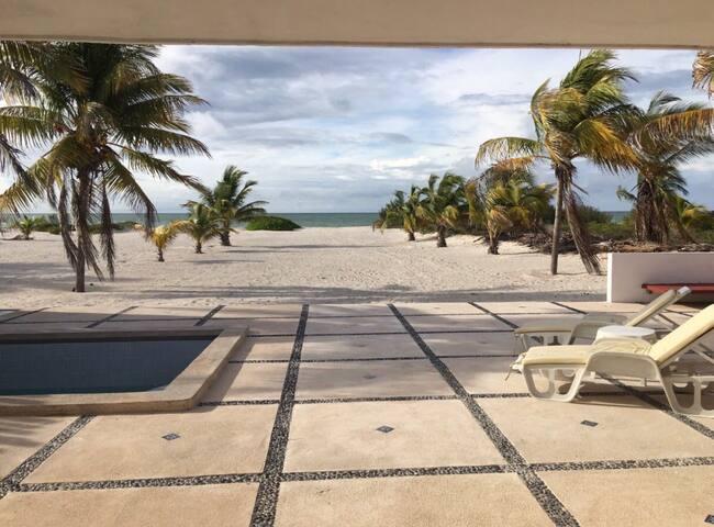 Hermosa casa en la playa Telchac, Yucatán - Telchac - Haus