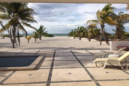 Hermosa casa en la playa Telchac, Yucatán - Telchac