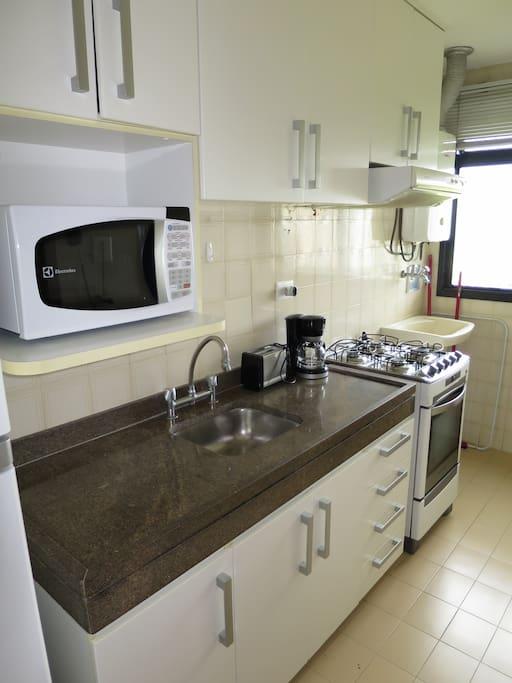 Cozinha Planejada e Equipada