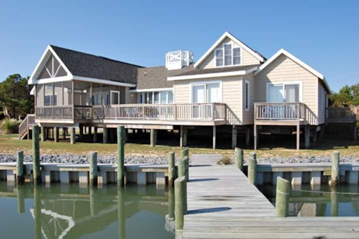 Bay Watch-Waterfront w/Boat Dock & Private Pier