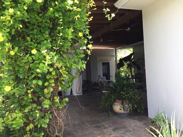 Cozy Room by the Garden Terrace