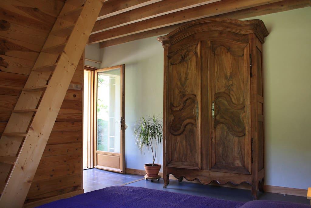 Chambre Vipérine, indépendante et familiale (5 lits)