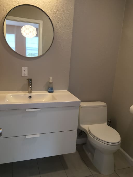 Brand new Ikea bathroom