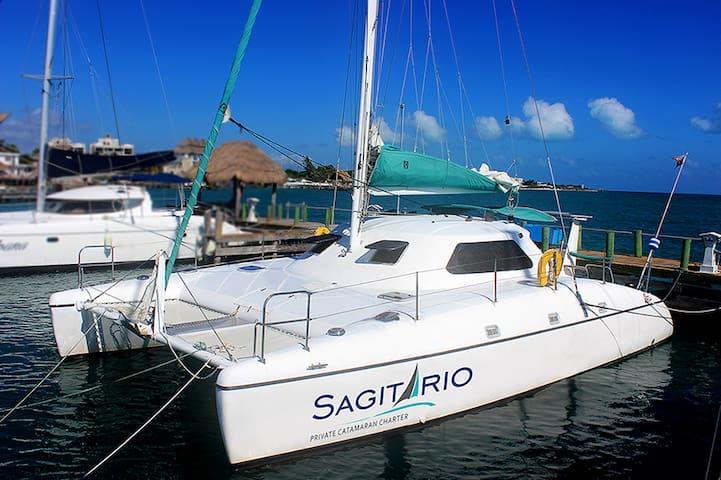 Live on board - Cancun - Barca