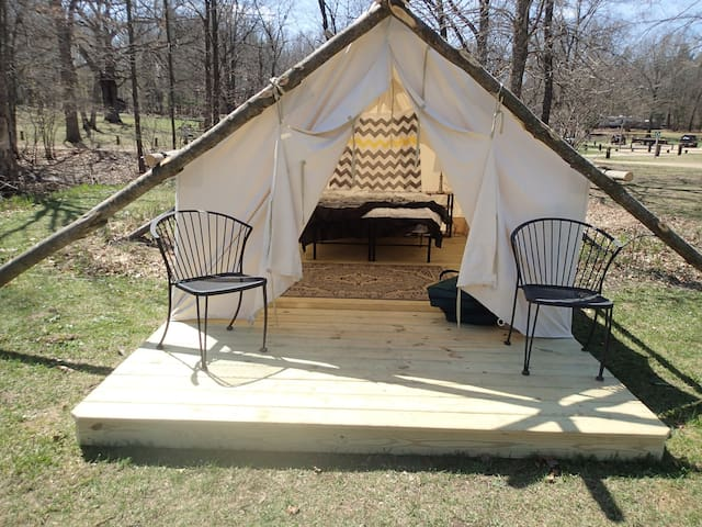 Glamping Tent (5) @ KOA with POOL - Township of Branch - Namiot